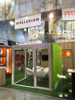 Wallenium booth in Stockholm